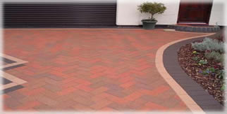 Hadley Red Block Paving