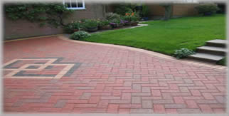 Hadley Red Brindle Block Paving
